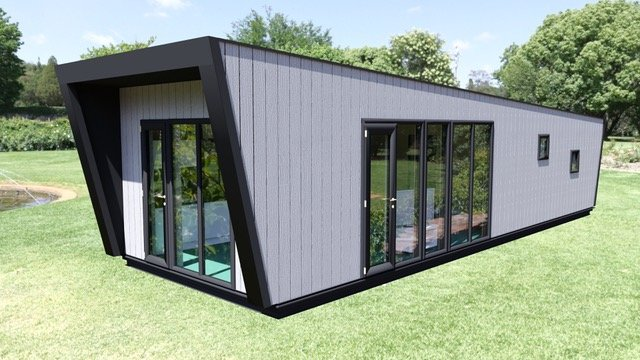 ripstaal chalet vakantiewoning bungalow prefab
